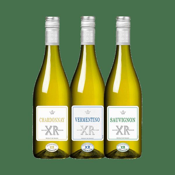Wijnpakket Wit – XR Xavier Roger (3 flessen)