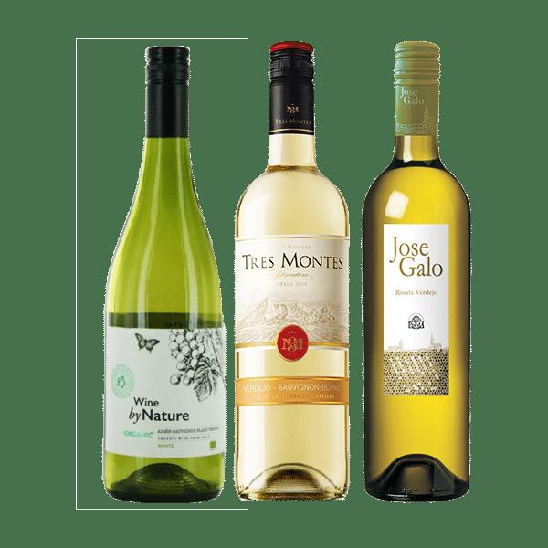 Wijnpakket Wit – Spanje (3 flessen)