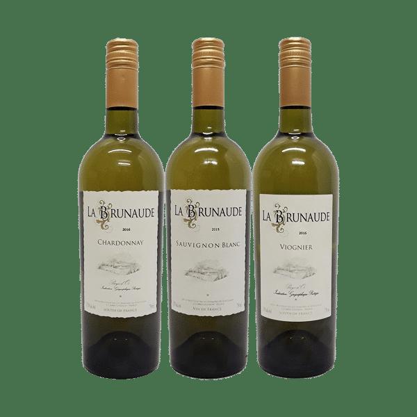 Wijnpakket Wit – Domaine la Brunaude (3 flessen)